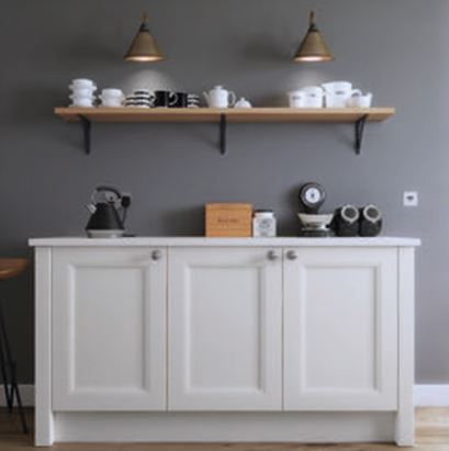 traditionally made kitchen unit
